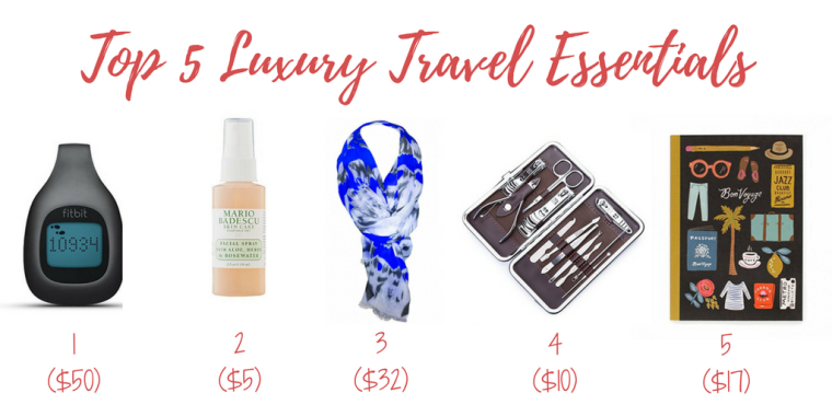 Top 5 Luxury Travel Essentials